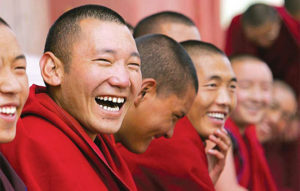 laughing-monks